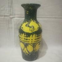 Retro iparművész kerámia váza 25,5 cm