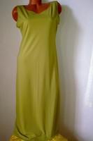 2e88b68437 Small talk szép banánzöld ujjatlan nyári maxi női ruha M - L 40 ...