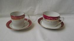 Limoges,aranyozott kávés,és egy teás készlet