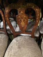 Intarziás szék-szèkek