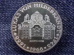 Osztrák ezüst 25 Schillig 1968, Lukas von Hildebrandt/id 9616/