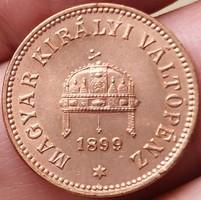 ★1899 Ferenc József 2 Fillér KB★