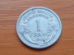 FRANCIA 1 FRANC FRANK 1941 ALU.