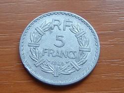FRANCIA 5 FRANCS FRANK 1946 ALU.