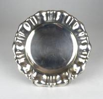 0X148 Régi jelzett ezüstözött hólyagos tányér
