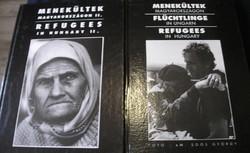 Menekültek Magyarországon I-II. kötet eM. Soós György fotóival
