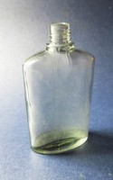 Lapos kölnis, parfümös  üveg gyüjtőknek N011