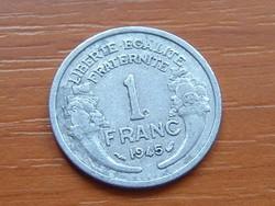 FRANCIA 1 FRANC FRANK 1945 ALU.