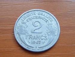 FRANCIA 2 FRANCS FRANK 1947 / B ALU.
