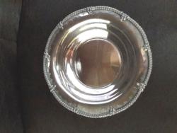 Dìszes ezüst tál