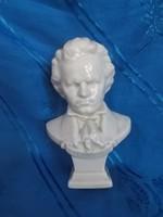 ritka kispest porcelán beethoven szobor figura