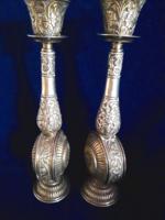 Csodás ezüst 925-ös gyertyatartók 160 ft/g