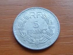 FRANCIA 5 FRANCS FRANK 1949 / B ALU.