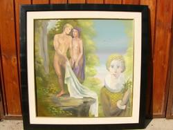 Herpai Zoltán  festmény  60 x 60 cm