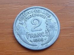 FRANCIA 2 FRANCS FRANK 1946 ALU.
