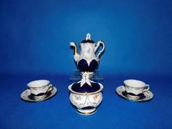 Meisseni Barokk 2sz kávés garnitúra