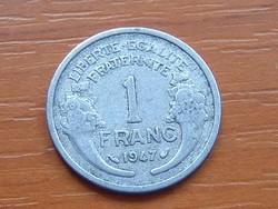 FRANCIA 1 FRANC FRANK 1947 ALU.