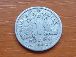 FRANCIA 1 FRANC FRANK 1944 / C VICHY ALU.