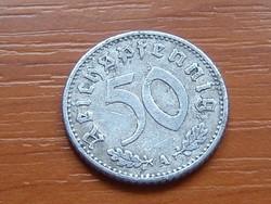 NÉMET BIRODALOM 50 PFENNIG 1935 A ALU.