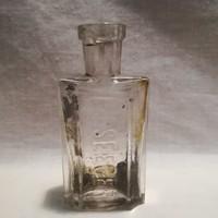 W. Seeger gyógyszeres üveg palack