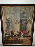 PÁDUA KÁLMÁN (1885-1958): eredeti festménye
