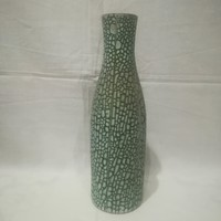Retro iparművész kerámia váza 30,5 cm
