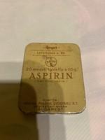 Aspirin doboz eladó!Ara:3000.-