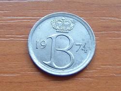 BELGIUM BELGIE 25 CENTIMES 1974
