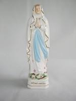 Lourdesi Szűz Mária porcelán szobor
