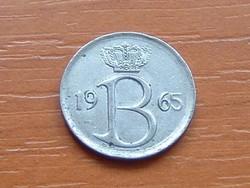 BELGIUM BELGIQUE 25 CENTIMES 1965