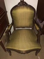 Neobarokk karosszék/-fotel