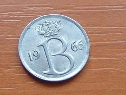 BELGIUM BELGIQUE 25 CENTIMES 1966