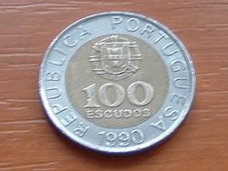PORTUGÁLIA 100 ESCUDOS 1990