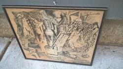 Csatári József rajza