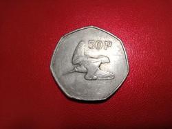 Írország - 50 pence - 1977