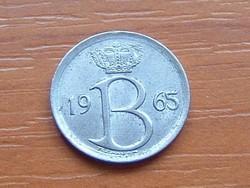 BELGIUM BELGIE 25 CENTIMES 1965