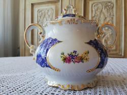 Zsolnay Marie Antoinette teás nagy méretű cukortartó