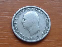 GÖRÖG 2 DRACHMA DRACHMAI 1957