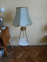 Extrém ritka,gyönyörű,réz lábazatú art deco állólámpa,hangulatlámpa