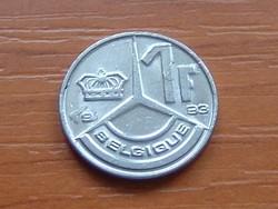 BELGIUM BELGIQUE 1 FRANK 1993