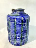 Szemereki Teréz váza, jelzett, 1970 körül