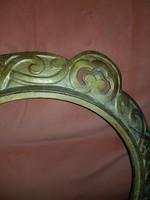 Öntöttvas kèpkeret, 50 cm széles, aranyozott