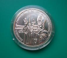 1991 - 500 Ft - II.János Pál Pápa látogatása - Ag900- BU