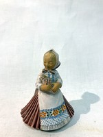 Art Deco kislány, Gácser Kata keramikus