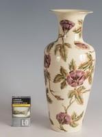 Zsolnay Virágos váza