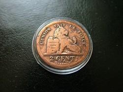 2 Cent 1834 RR!