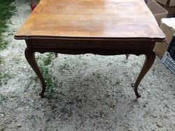 Neobarokk női íróasztal székkel