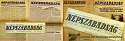 1982 június 1  /  NÉPSZABADSÁG  /  SZÜLETÉSNAPRA! RETRO, RÉGI EREDETI ÚJSÁG Szs.:  11597
