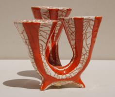 Gorka Géza: Háromágú váza - 1960-as évek