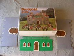 Schenk várépítő játék eredeti dobozában